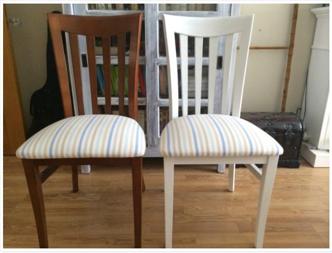 2558 pintar sillas labores en red - Sillas para pintar ...