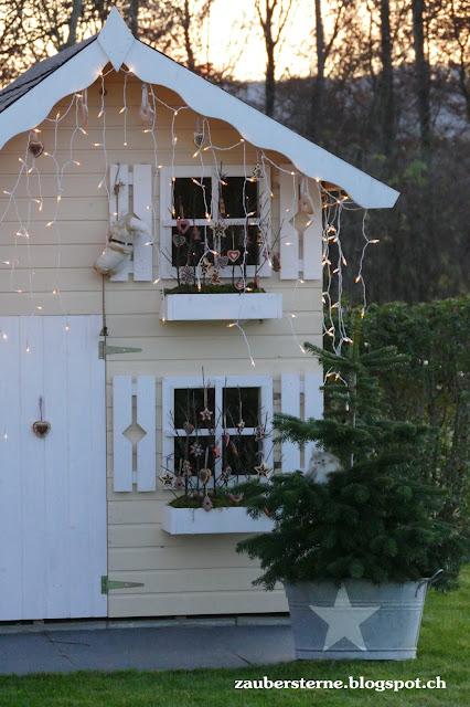 Knusperhäuschen, Weihnachtshaus, Familienblog Schweiz