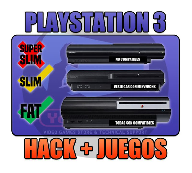 PROGRAMACION CFW / HACK TOTAL EN PLAYSTATION 3