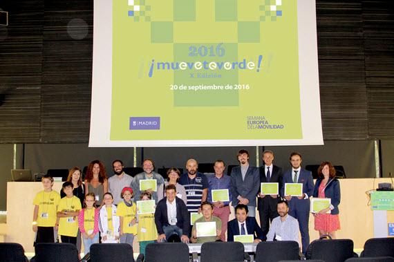 Premios Muévete Verde 2016