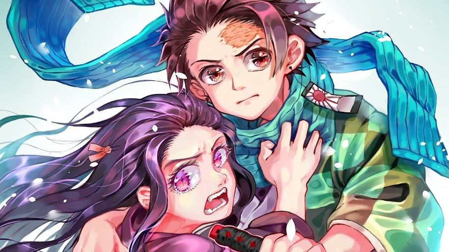 Tanjirou And Nezuko Kimetsu No Yaiba 4k Wallpaper 42
