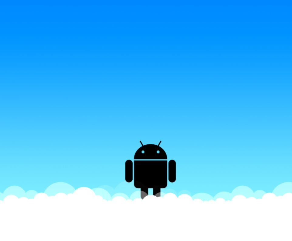 Blue Background Android GOOGLESACK