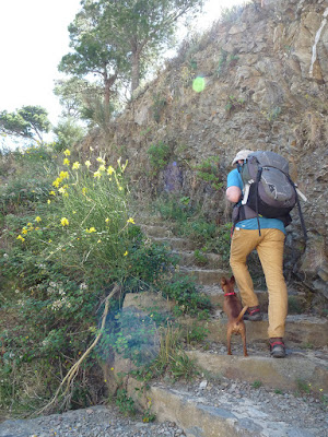 GR92 コレラ -リリャンサ Colera - Llança ハイキング