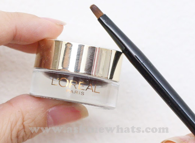 a photo of L'Oreal 24H Super Liner Waterproof Gel Eyeliner in Brown