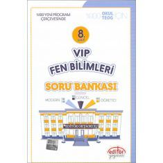 Editör 8.Sınıf VIP Fen Bilimleri Soru Bankası (2017)