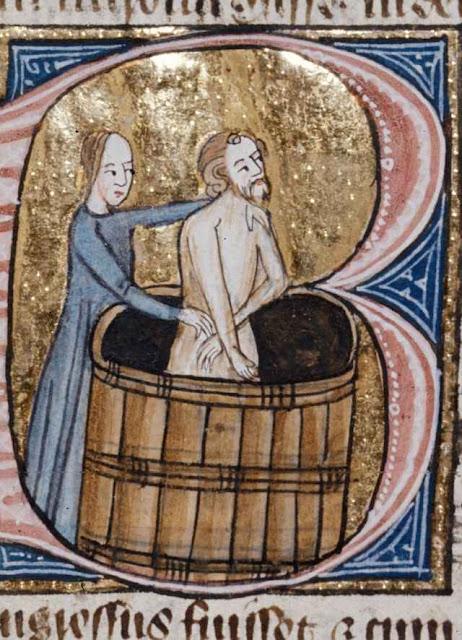 Banho na Idade Média.
