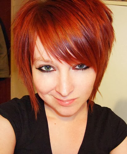 hairstyle elibrodepoesia: red hair color
