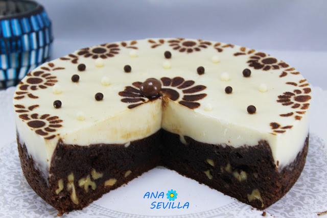 Tarta brownie y flan Ana Sevilla olla GM