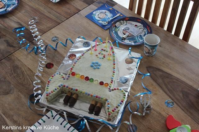 Kerstins Kreative Kuche Raketen Kuchen