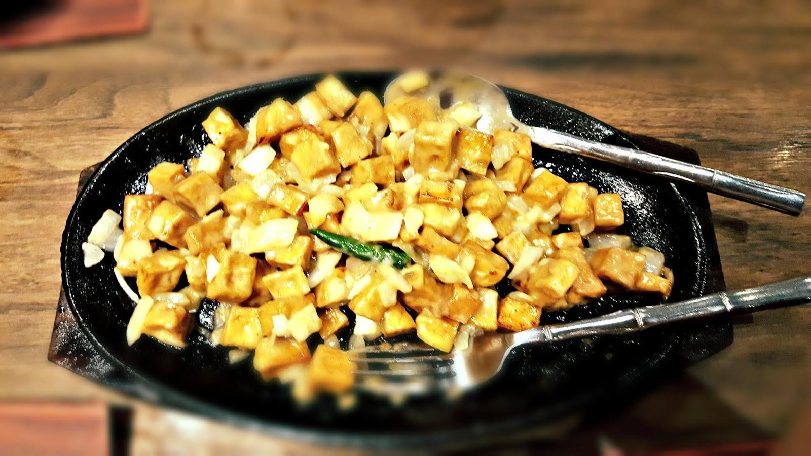sizzling tofu mesa filipino moderne cuisine www.jeepneyrecipes.com