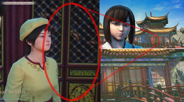 The doors Ryo and Shenhua stand next to can be found in the temple image seen in Kickstarter Update #77