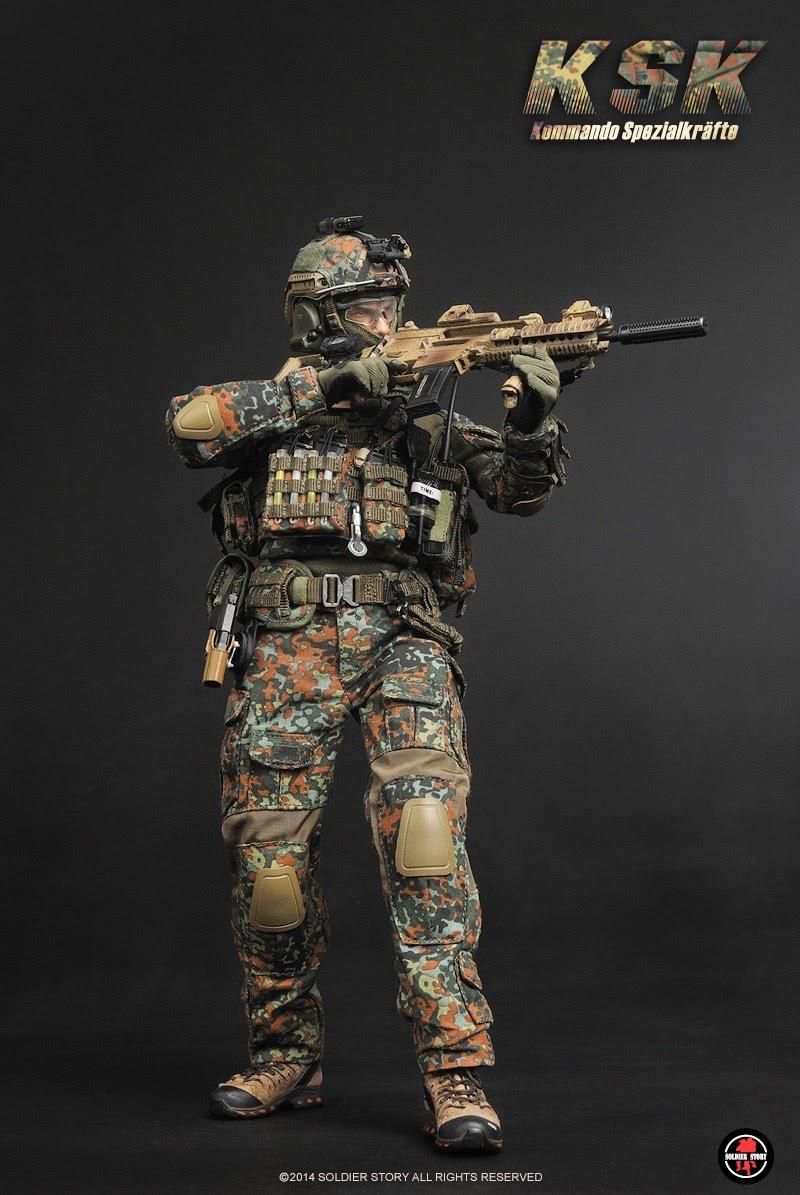 preview soldier story 1 6 scale kommando spezialkr fte ksk 12 figure miroslav klose. Black Bedroom Furniture Sets. Home Design Ideas