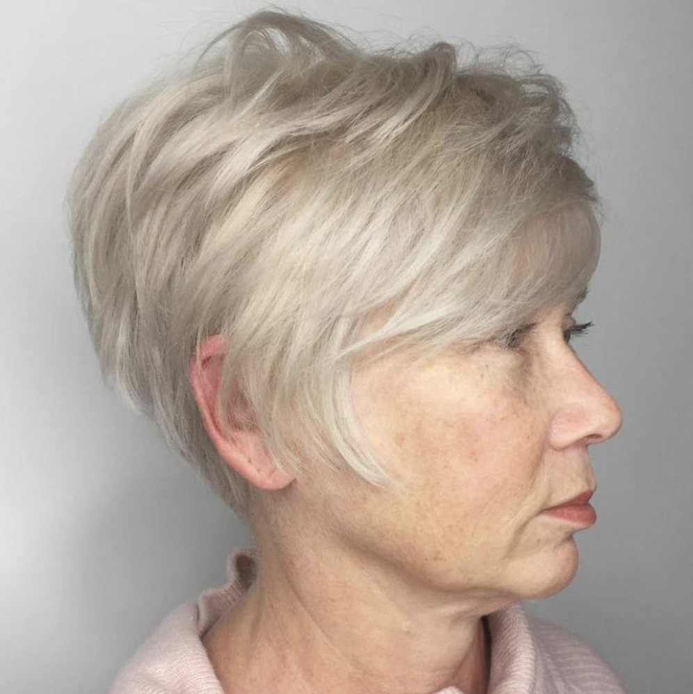 Older Women Pixie Haircuts For Women Over 50 77