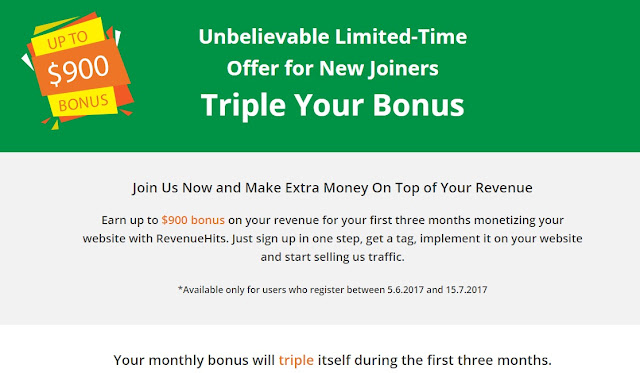 make money online blogging How I Made $14,910 in Less than 20 Days with RevenueHits