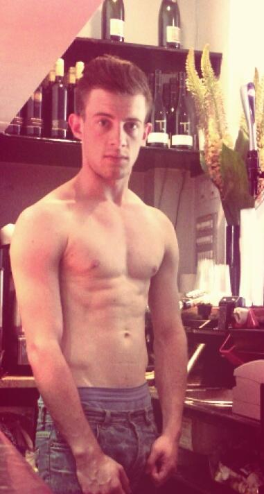 The Stars Come Out To Play: Marshall Dalansky - Shirtless