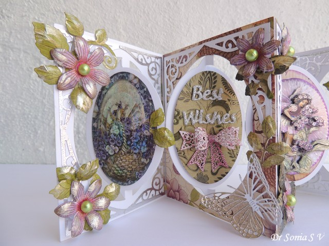 Accordion Pop Up Card
