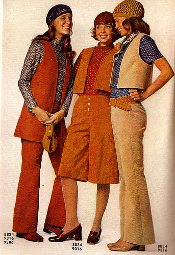 The History Of Fashion : 1970s