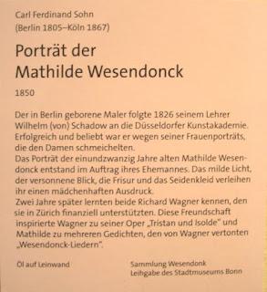 Porträt der Mathilde Wesendonck