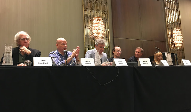 Steve Berry moderates SECOND-BOOK-ITIS: ThrillerFest 2016
