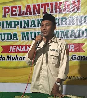 Pelantikan PCPM Jentim, Sambutan Ketua
