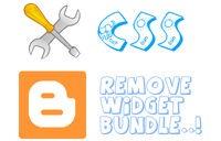 Cara Hapus Widget Bundle CSS untuk Kecepatan Blog