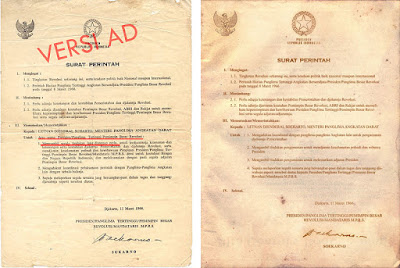 Tindak Lanjut dari Keluarnya Surat Perintah 11 Maret 1966 (Supersemar)