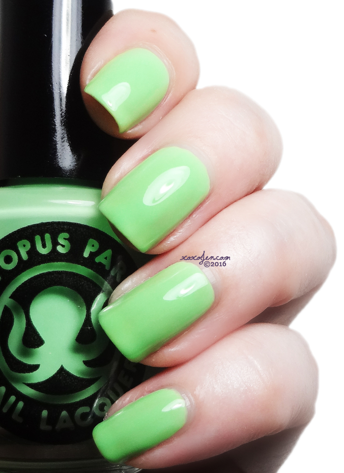 xoxoJen's swatch of Octopus Party The Algae-attic Sea