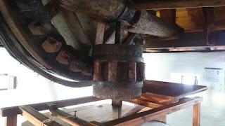 Maquinaria del Molino Rucio.