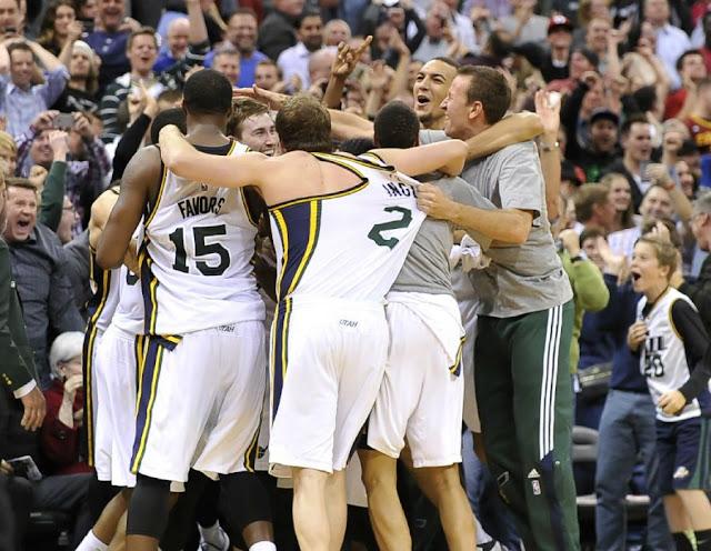 Le banc du Jazz est considéré comme le meilleur de la saison NBA 2016-17
