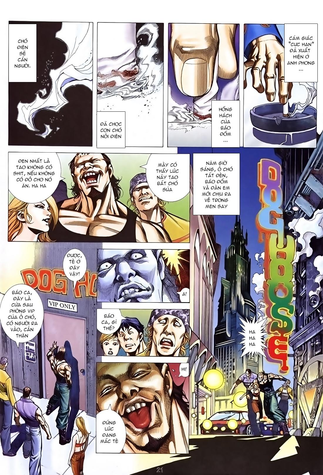 Xích Trụ Phạn Đường Chap 26.2 Trang 7