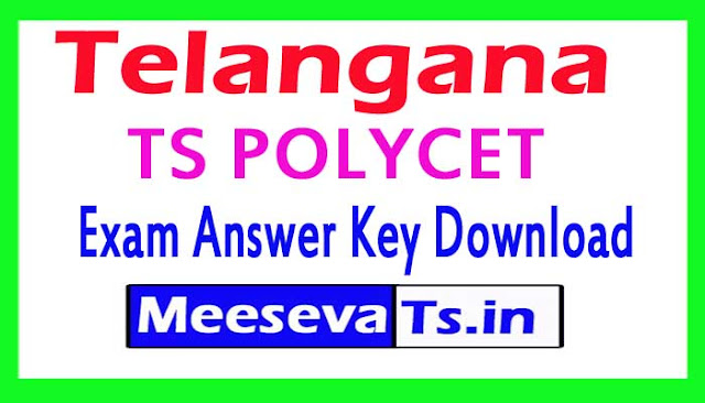 TS POLYCET Exam Answer Key Download 2018