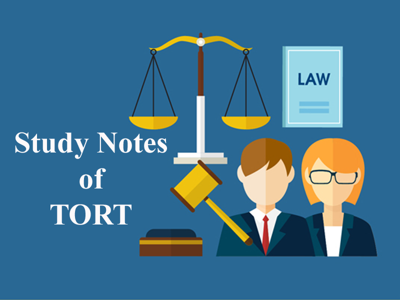 Study Notes on Tort for CLAT-General Defenses