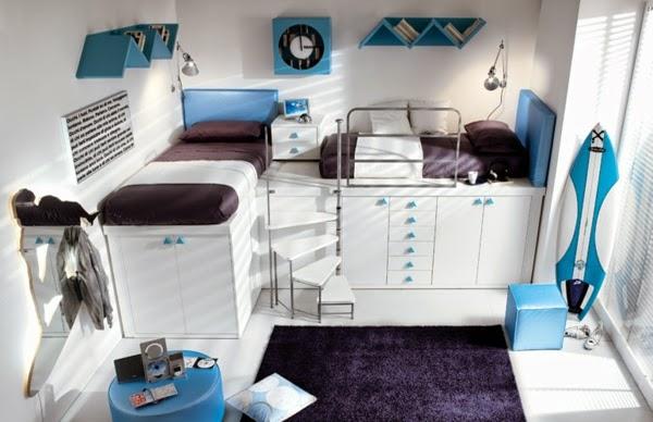 moderno dormitorio funcional