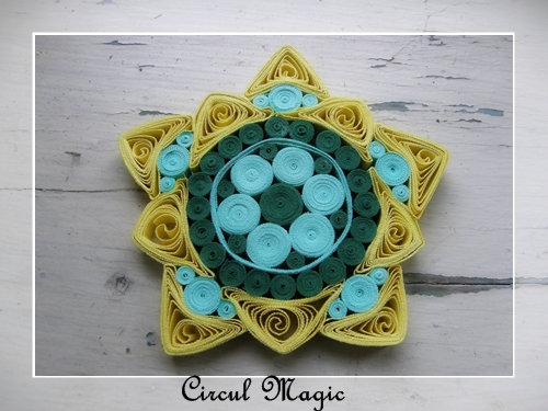 Mandala Quilling Hartie Circul Magic