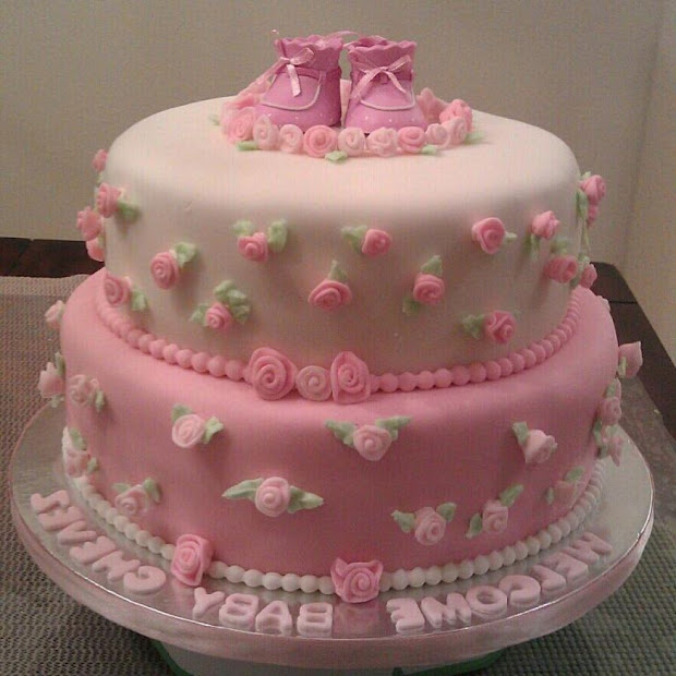 Gorgeous Cake Design Baby Shower And