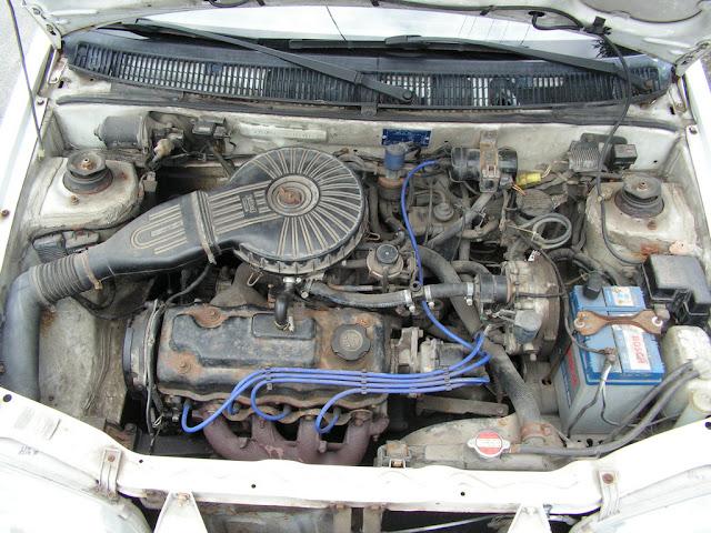 Suzuki Swift MK3, 1.3 GS, staryjaponiec, SOHC, G13BA, silnik