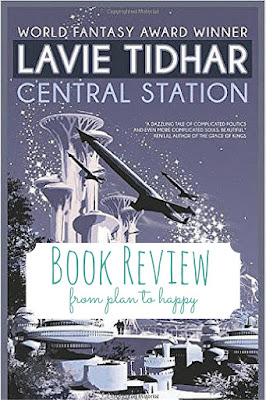 Central Station by Lavie Tidhar has a classic sci-fi feel and explores deep themes of war, memory, and technology, all within the setting of a far future space port.