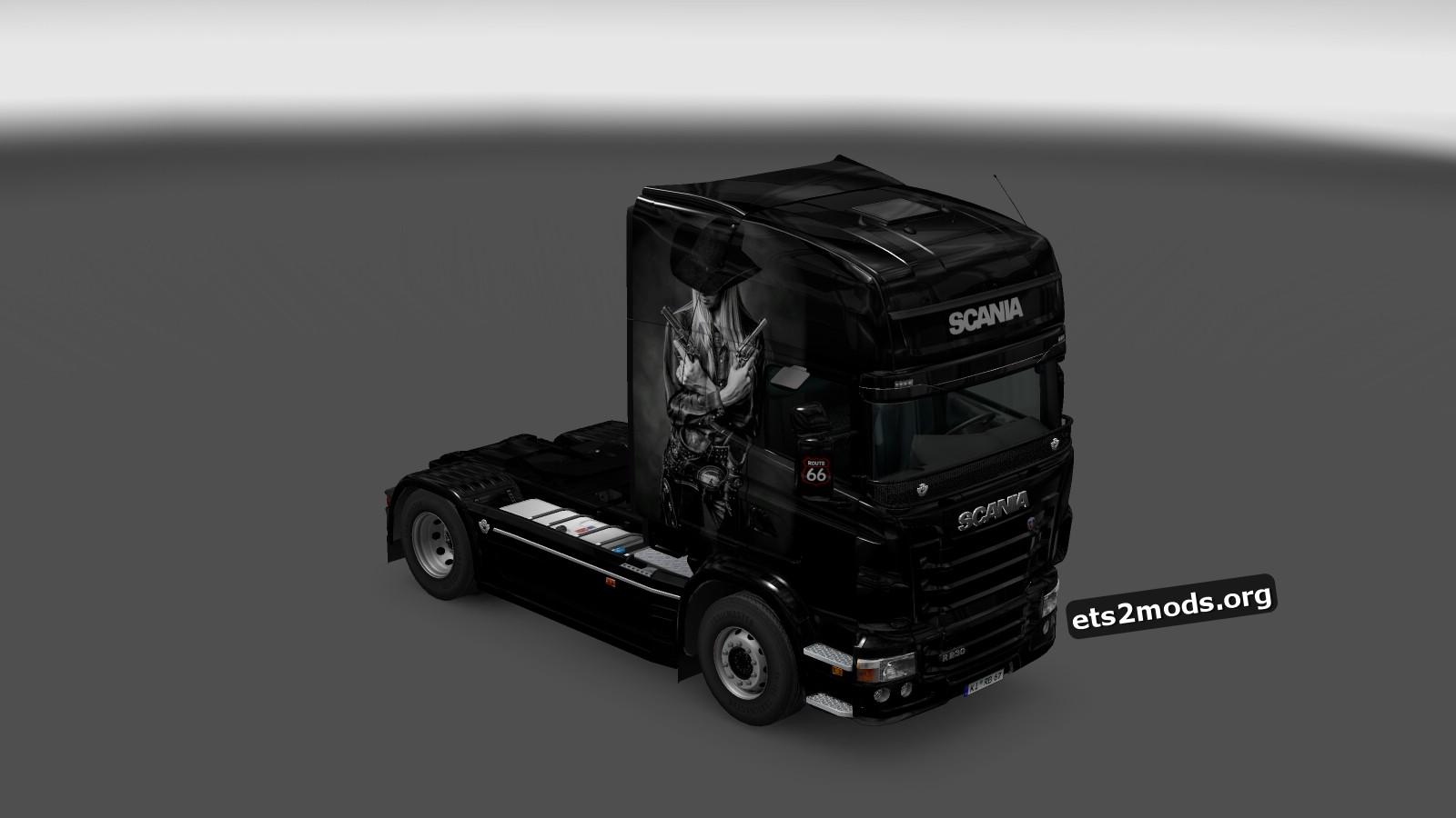 Cowboy Skin for Scania RJL