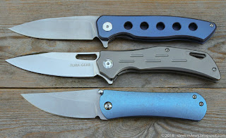 "Fura Gear ""5 Holes"" flipper, ""Shrapnel"" and Lovocoo SF001"