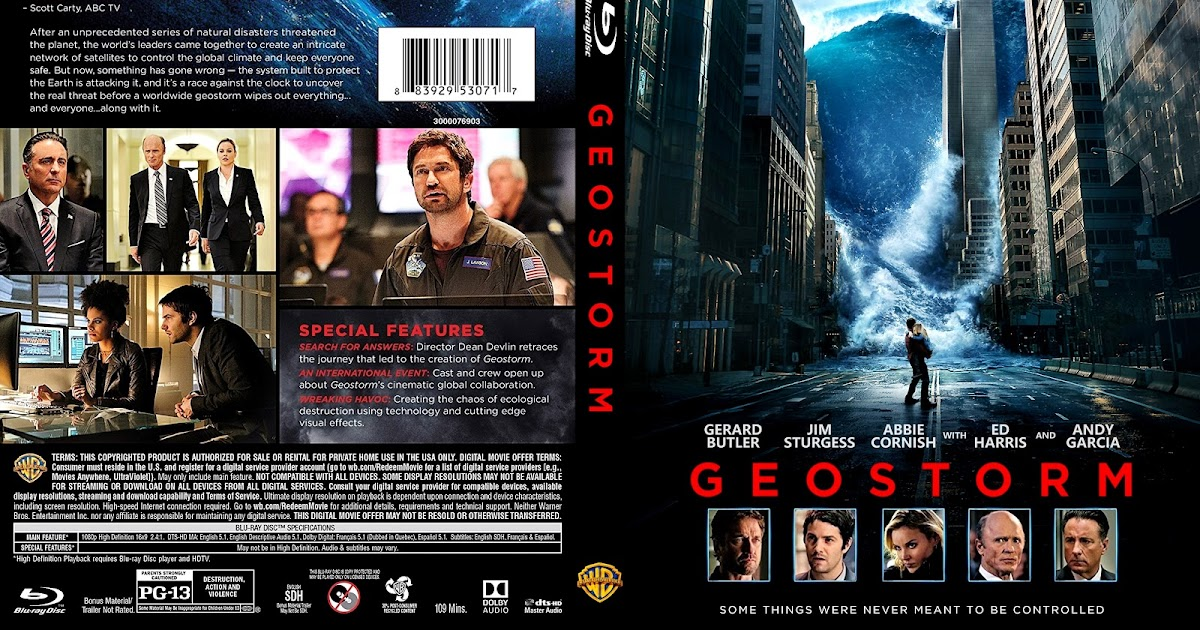 Geostorm Dvd Cover