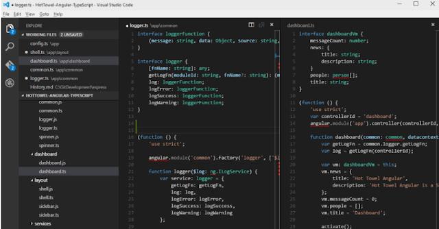 تحميل برنامج فيجوال ستوديو 2018 مجانا Visual Studio Code
