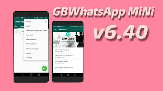 GBWhatsApp Mini v6.40