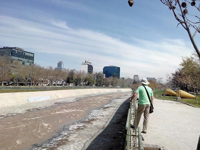 Río Mapocho Santiago Chile