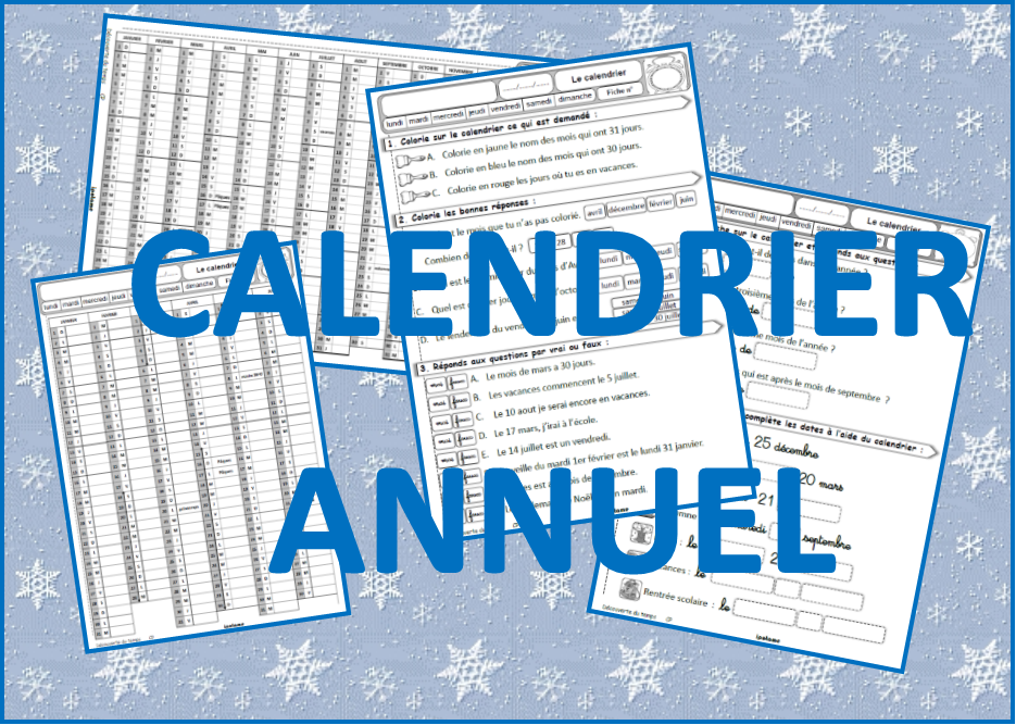 Calendrier 2020 A Completer.Ipotame Tame Qlm Cp Ce1 Calendrier Annuel 2020