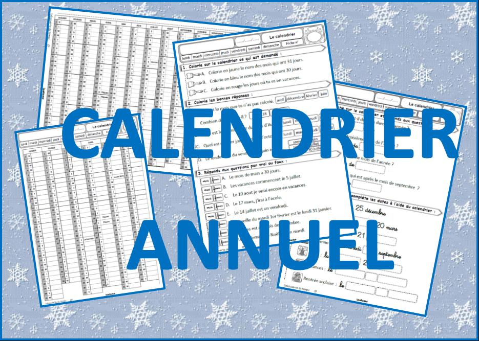 IPOTÂME .TÂME: QLM CP CE1 : calendrier annuel 2021