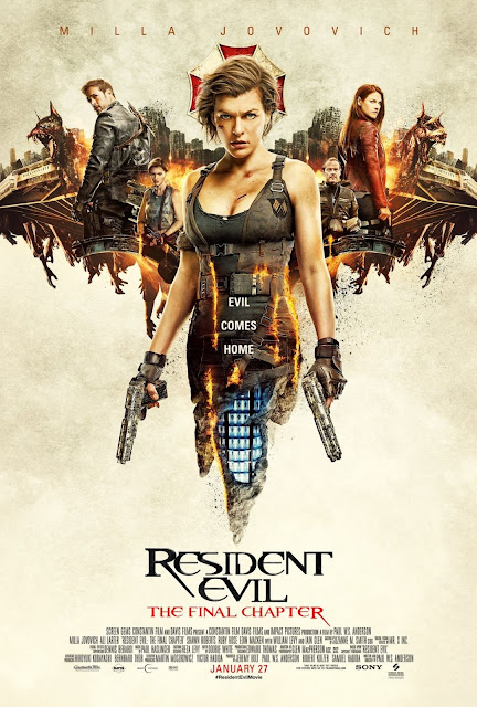 Resident Evil : The Final Chapter 2016