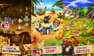 Angry Birds Epic Mod Unlimited Money v1.5.0 Apk Terbaru