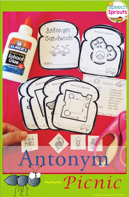 Best Year-End Picks for SLPs: Antonym Picnic www.speechsproutstherapy.com