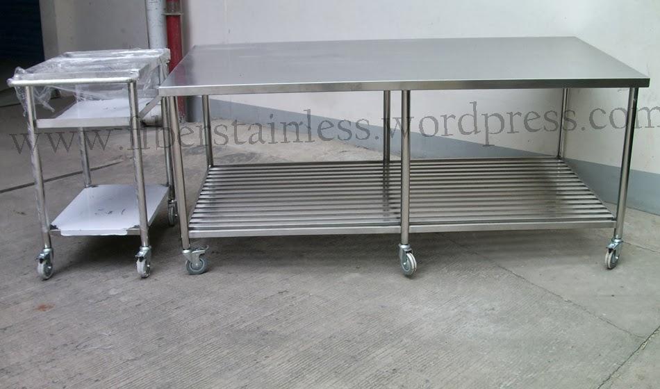 Meja Dapur Stainless Steel Work Table