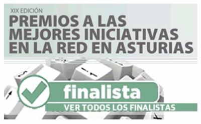 Finalista al mejor Blog 2018 por El Comercio Digital